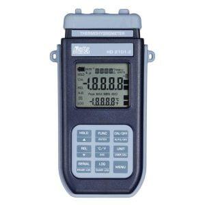 HD2101.2 kosteus- ja lämpötilaloggeri