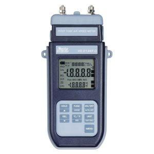 DeltaOhm HD2134P.0 paine-/ilmamäärämittari