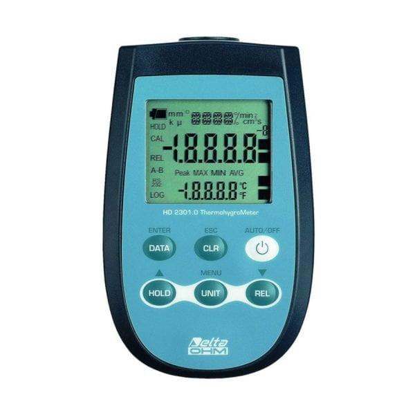 HD2301.0 kosteus- ja lämpötilaloggeri