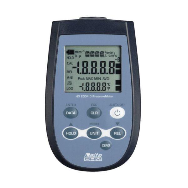 DeltaOhm HD2304.0 paine-/lämpötilamittari
