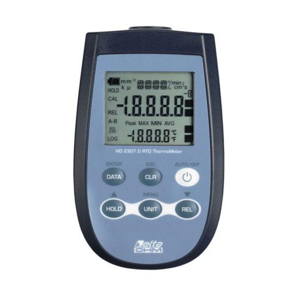 HD2307.0 lämpömittari PT100 anturille