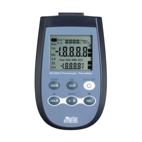 HD2328.0 lämpömittari termopariantureille