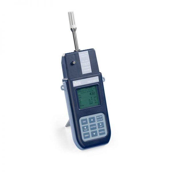 DeltaOhm HD21AB17 sisäilmastomittari + virtalähde