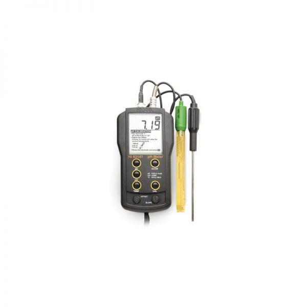 HI83141 pH/lämpötilamittari