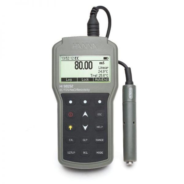 Hanna Instruments HI98192 Johtokykymittari