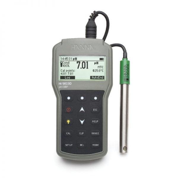 HI98190 pH/ORP-mittari
